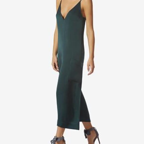 916864ec452 Avec Les Filles Relaxed Lace-Back Cropped Jumpsuit